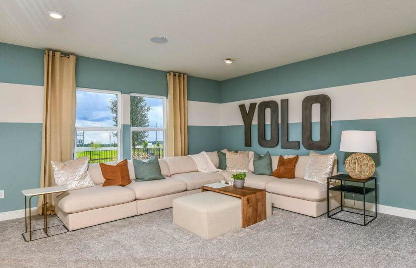 Living Area featured in the Whitestone By Pulte Homes in Orlando, FL