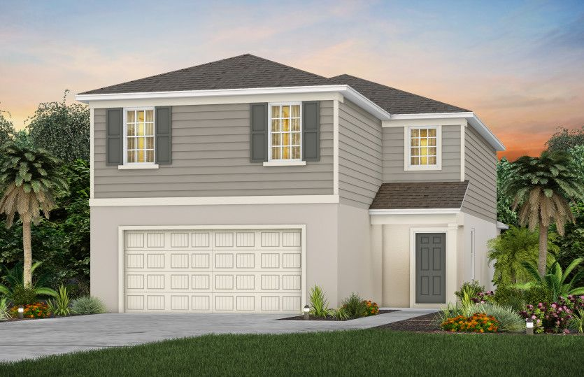 Exterior featured in the Tybee By Pulte Homes in Orlando, FL