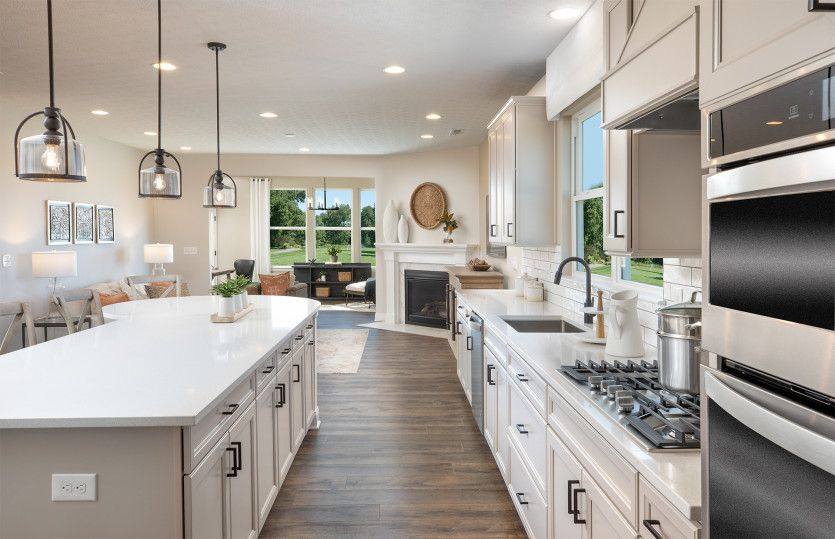 Kitchen featured in the Martin Ray By Pulte Homes in Columbus, OH