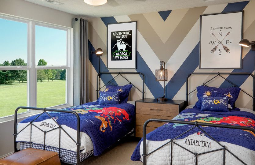 Bedroom featured in the Martin Ray By Pulte Homes in Columbus, OH