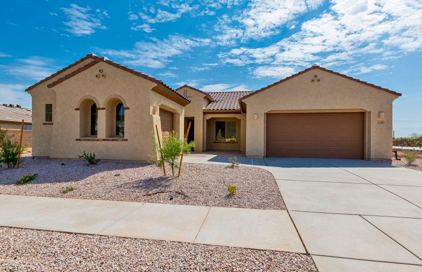 Exterior featured in the Rockledge By Pulte Homes in Tucson, AZ