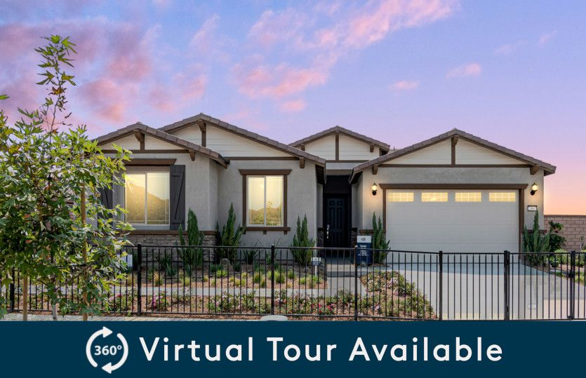 Exterior featured in the Easton By Pulte Homes in Riverside-San Bernardino, CA