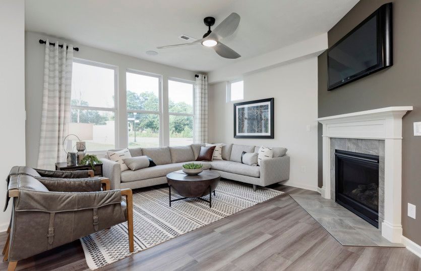 Living Area featured in the Ashton By Pulte Homes in Indianapolis, IN