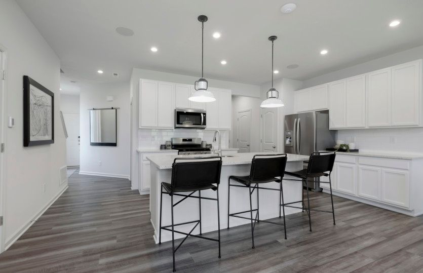 Kitchen featured in the Ashton By Pulte Homes in Indianapolis, IN
