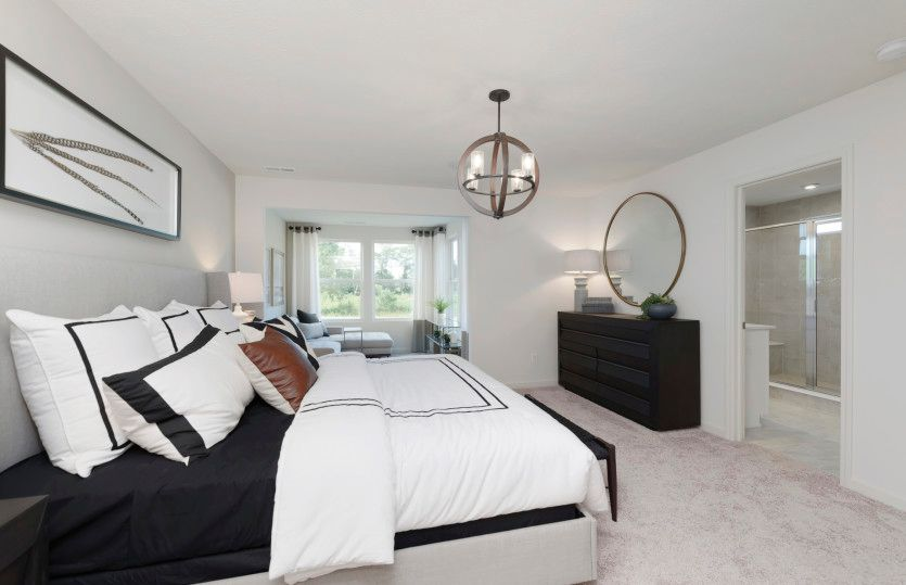 Bedroom featured in the Ashton By Pulte Homes in Indianapolis, IN