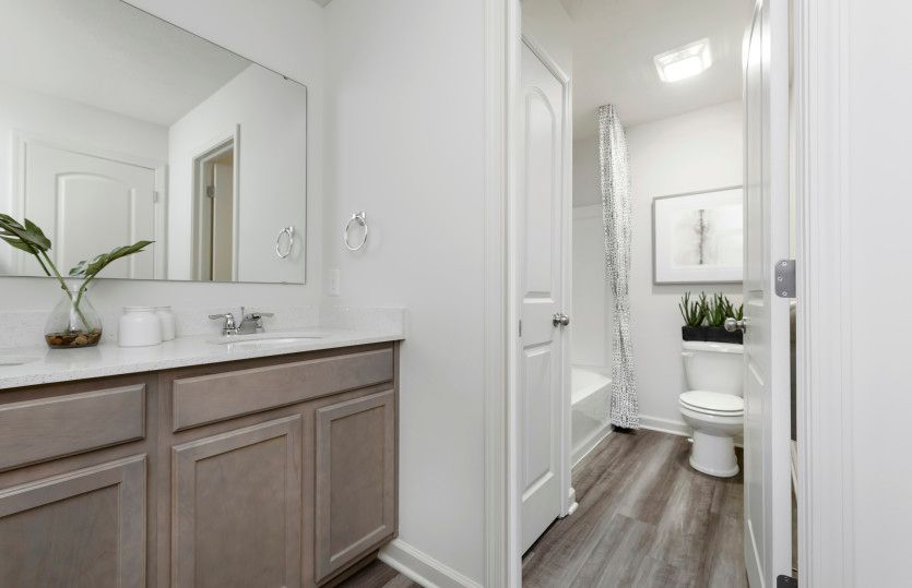 Bathroom featured in the Ashton By Pulte Homes in Indianapolis, IN