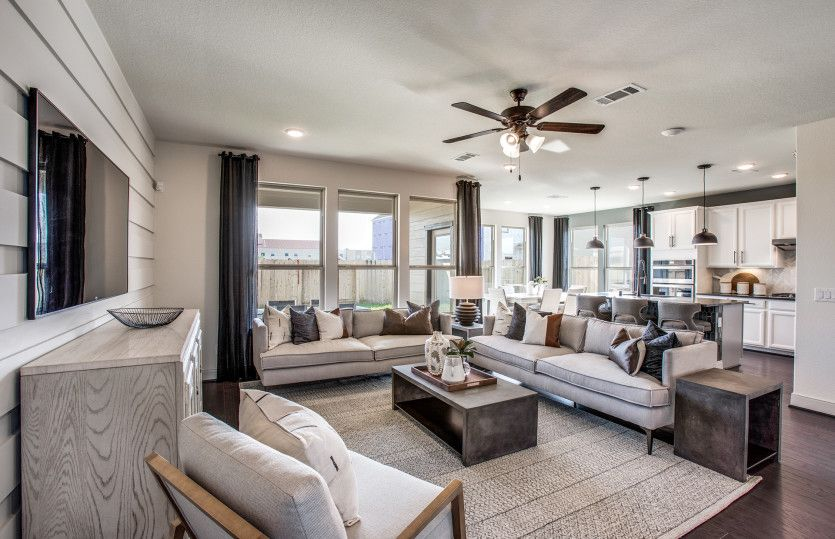 Living Area featured in the Sienna By Pulte Homes in Houston, TX