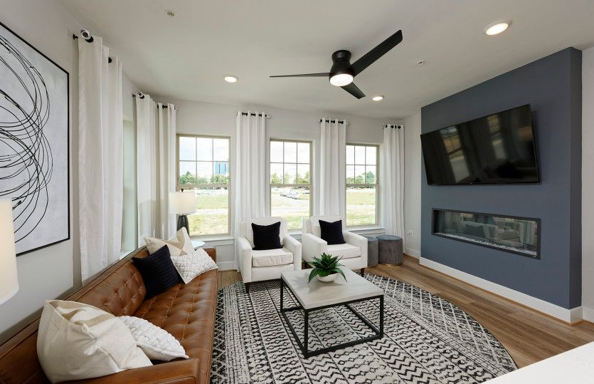 Living Area featured in the Baywood By Pulte Homes in Washington, MD