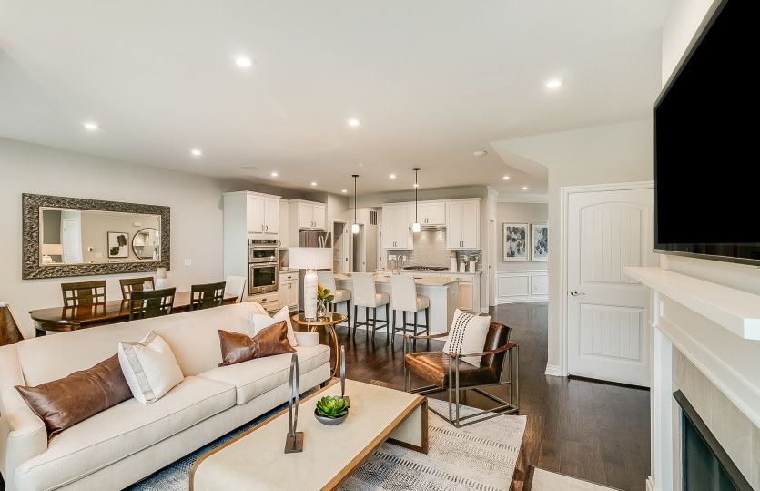 Living Area featured in the Ashton By Pulte Homes in Detroit, MI