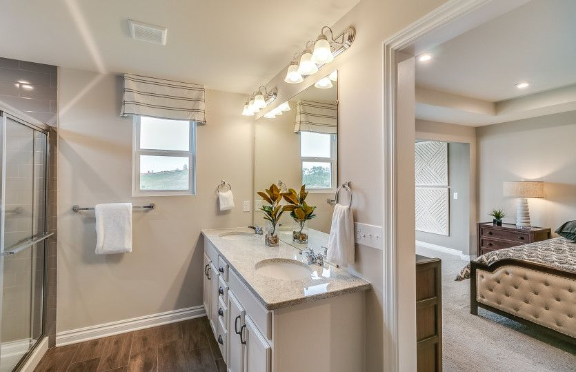 Bathroom featured in the Ashton By Pulte Homes in Detroit, MI