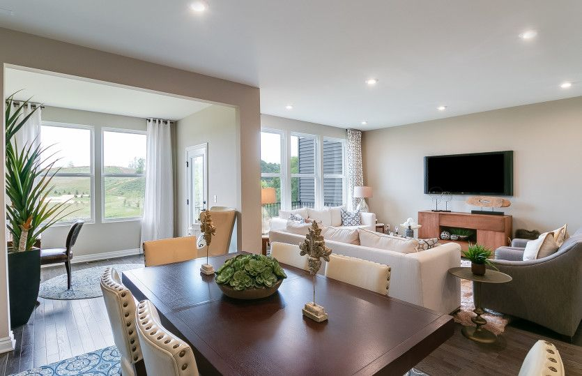 Living Area featured in the Cascade By Pulte Homes in Detroit, MI