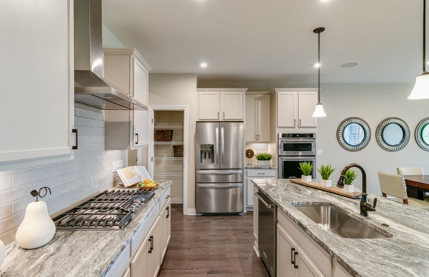 Kitchen featured in the Cascade with Basement By Pulte Homes in Detroit, MI