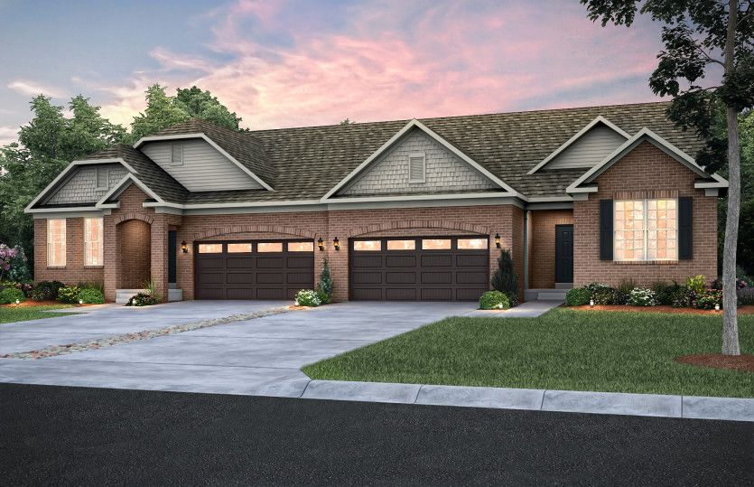 Exterior featured in the Abbeyville By Pulte Homes in Detroit, MI