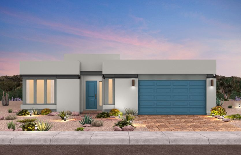 Exterior featured in The Asher By Pulte Homes in Las Vegas, NV