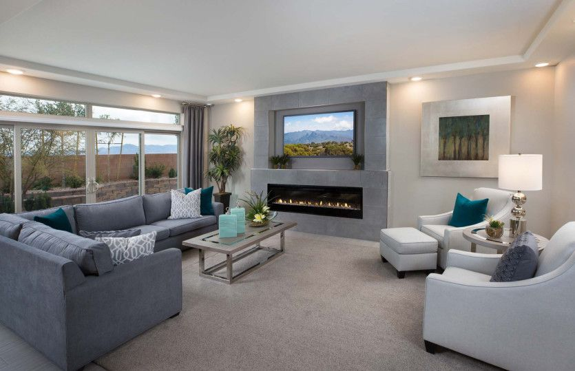 Living Area featured in The Asher By Pulte Homes in Las Vegas, NV