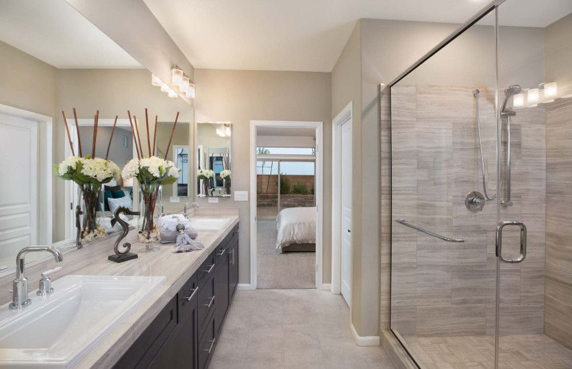 Bathroom featured in The Asher By Pulte Homes in Las Vegas, NV