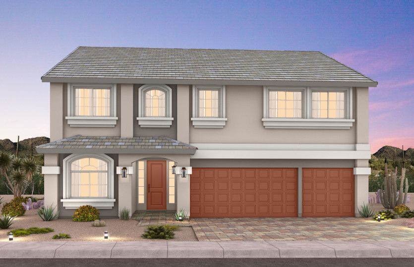 Exterior featured in The Juliet By Pulte Homes in Las Vegas, NV