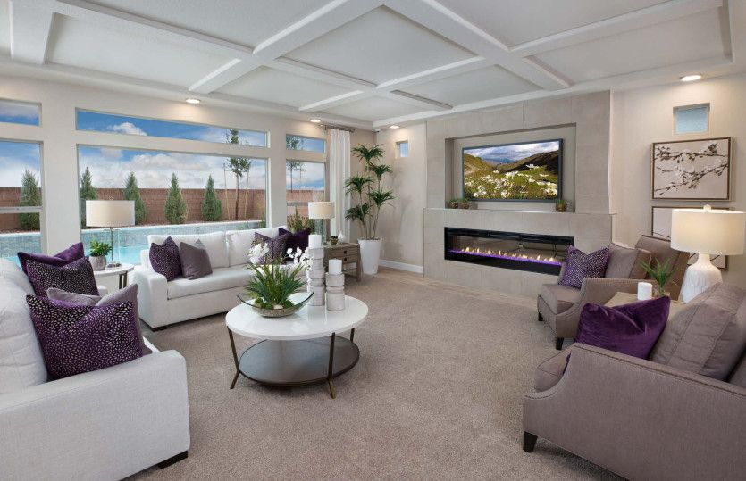 Living Area featured in The Juliet By Pulte Homes in Las Vegas, NV