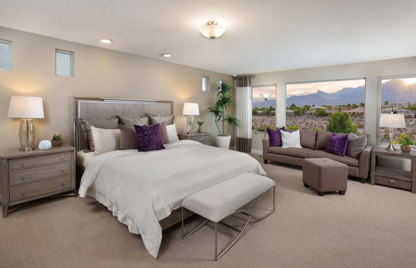 Bedroom featured in The Juliet By Pulte Homes in Las Vegas, NV
