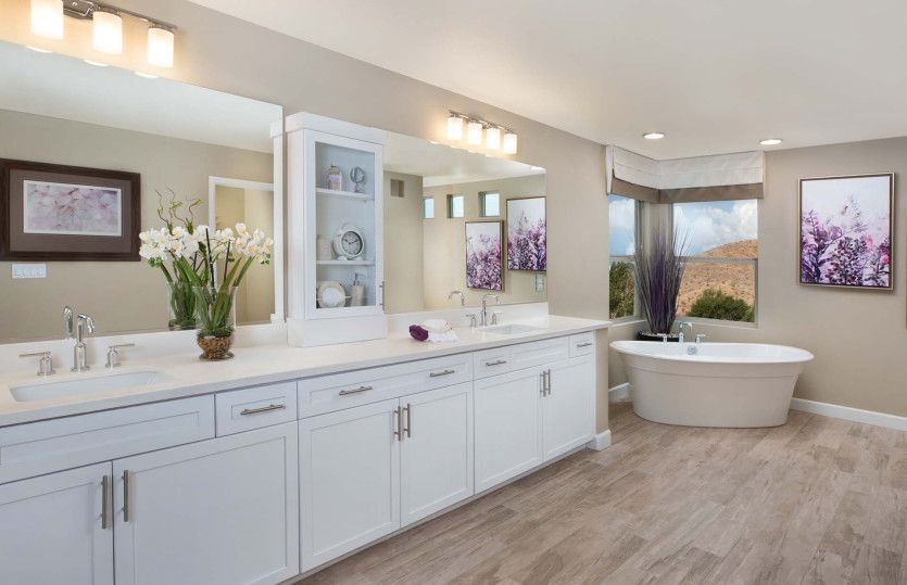 Bathroom featured in The Juliet By Pulte Homes in Las Vegas, NV