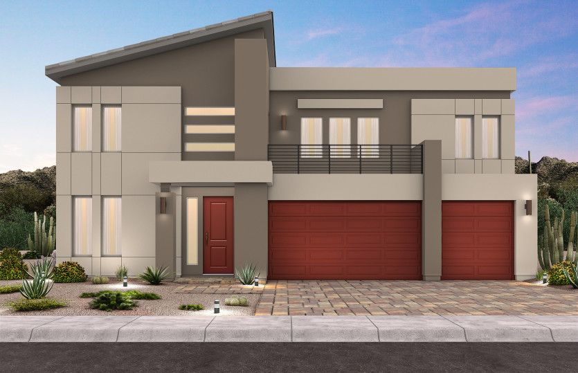 Exterior featured in The Olivia By Pulte Homes in Las Vegas, NV