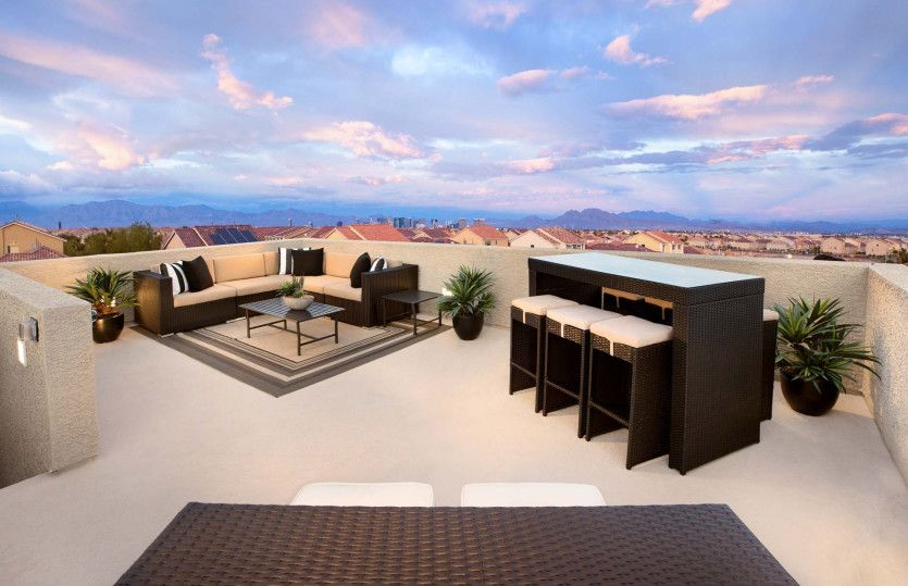 Exterior featured in The Victoria By Pulte Homes in Las Vegas, NV