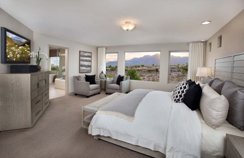 Bedroom featured in The Victoria By Pulte Homes in Las Vegas, NV