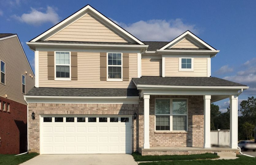 Exterior featured in the Boardwalk By Pulte Homes in Ann Arbor, MI
