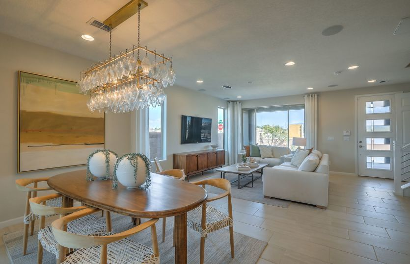 Living Area featured in the Senita By Pulte Homes in Santa Fe, NM