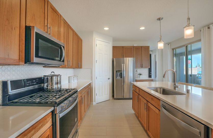 Kitchen featured in the Senita By Pulte Homes in Santa Fe, NM
