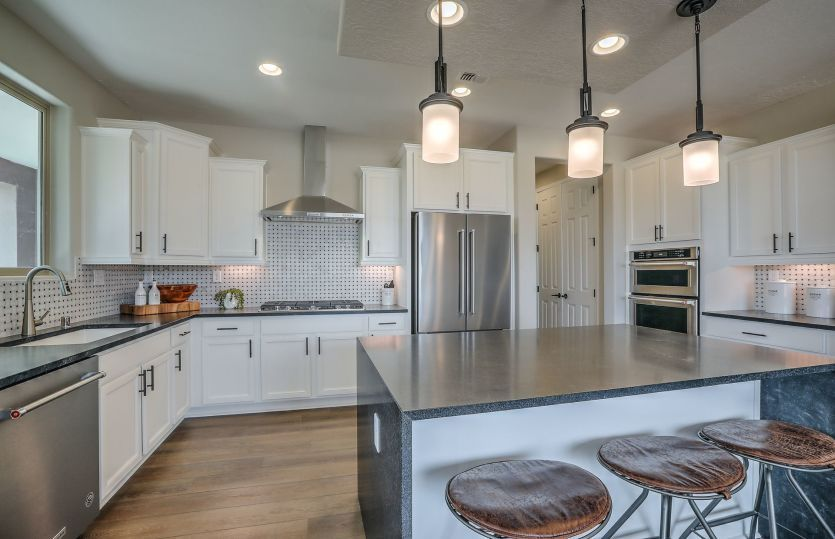 Kitchen featured in the Ocotillo By Pulte Homes in Santa Fe, NM