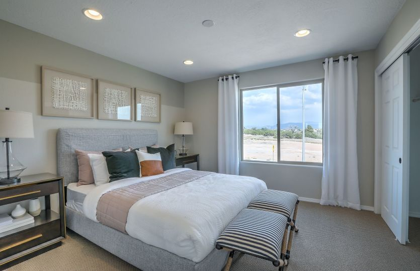Bedroom featured in the Ocotillo By Pulte Homes in Santa Fe, NM