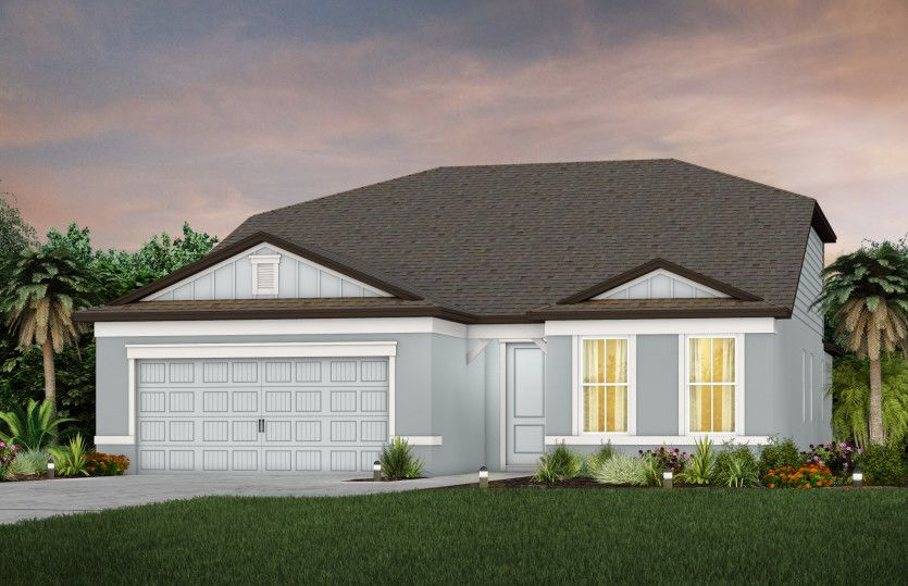 Exterior featured in the Mystique Grand By Pulte Homes in Tampa-St. Petersburg, FL