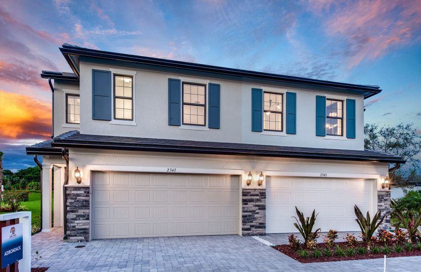 Exterior featured in the Leland By Pulte Homes in Broward County-Ft. Lauderdale, FL