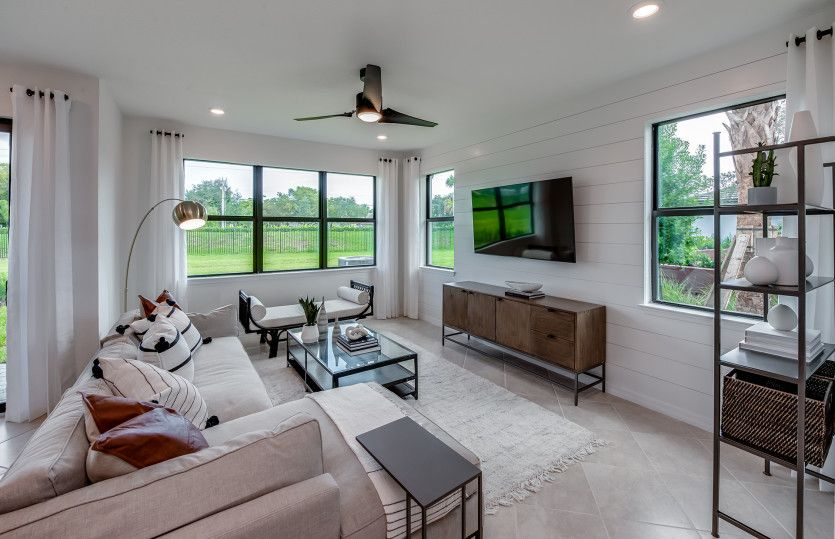 Living Area featured in the Leland By Pulte Homes in Broward County-Ft. Lauderdale, FL