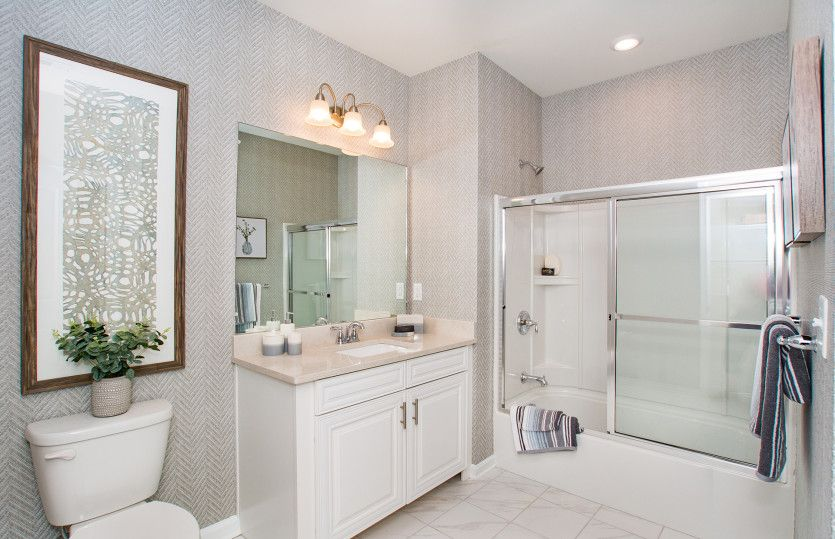 Bathroom featured in the Moreland By Pulte Homes in Boston, MA