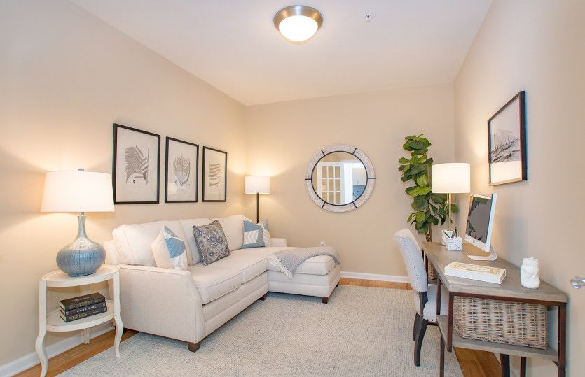 Living Area featured in the Jensen By Pulte Homes in Boston, MA