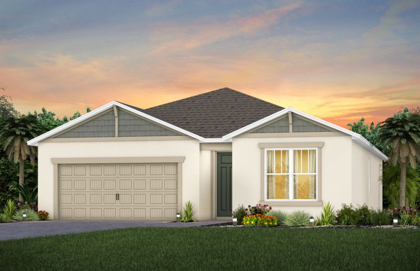 Exterior featured in the Cedar By Pulte Homes in Orlando, FL