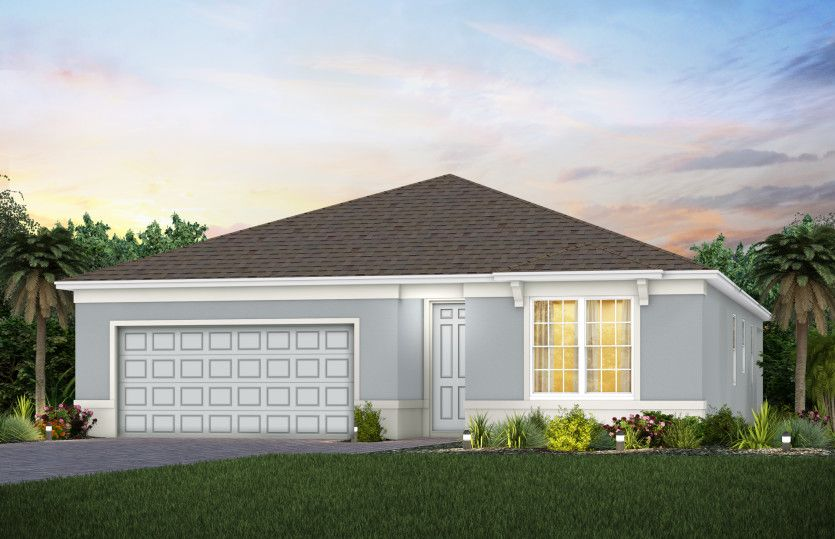 Exterior featured in the Highgate By Pulte Homes in Orlando, FL