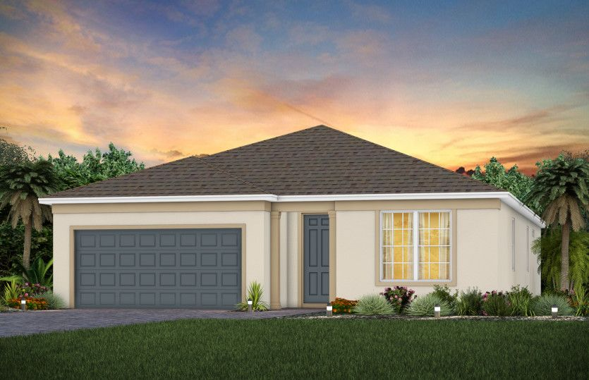 Exterior featured in the Spruce By Pulte Homes in Orlando, FL