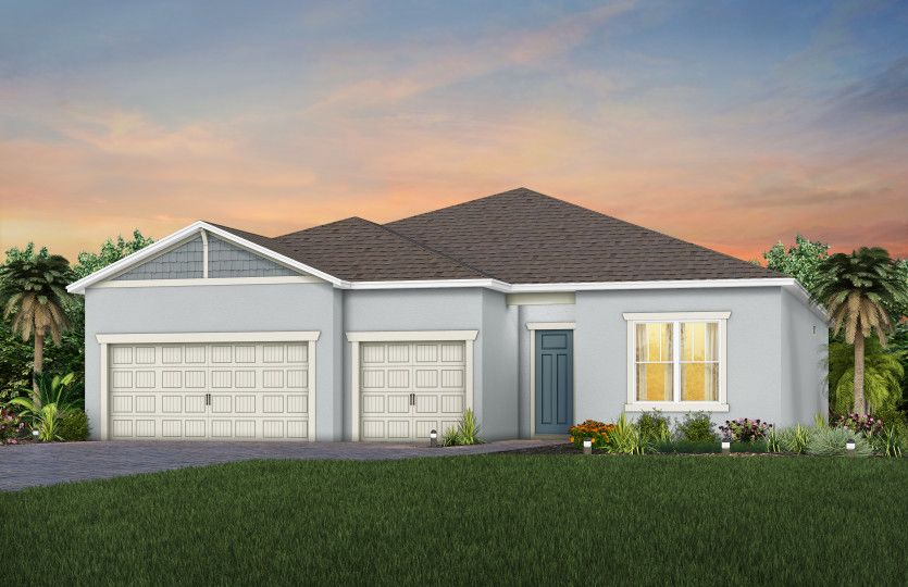 Exterior featured in the Ashby By Pulte Homes in Orlando, FL