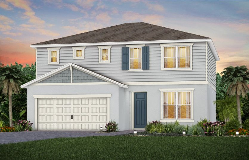 Exterior featured in the Tower By Pulte Homes in Orlando, FL