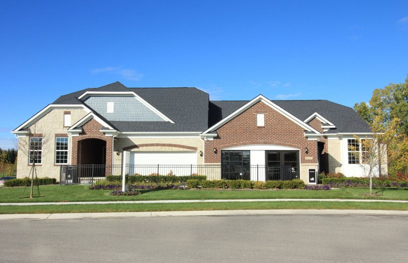 Exterior featured in the Bayport By Pulte Homes in Detroit, MI