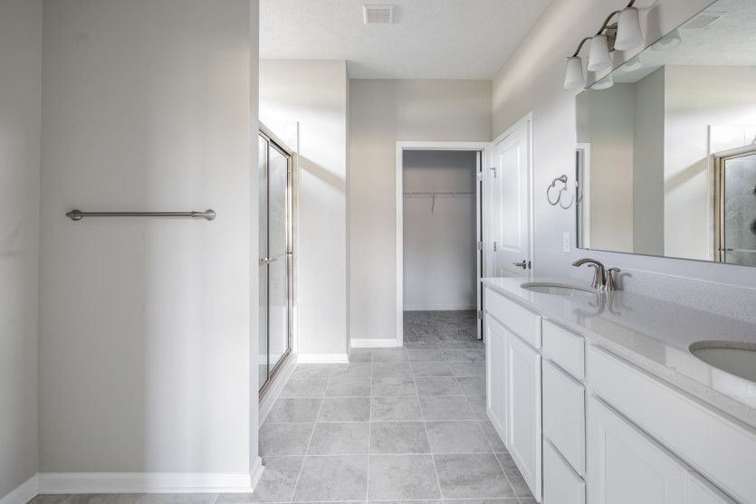 Bathroom featured in the Abbeyville By Pulte Homes in Cleveland, OH