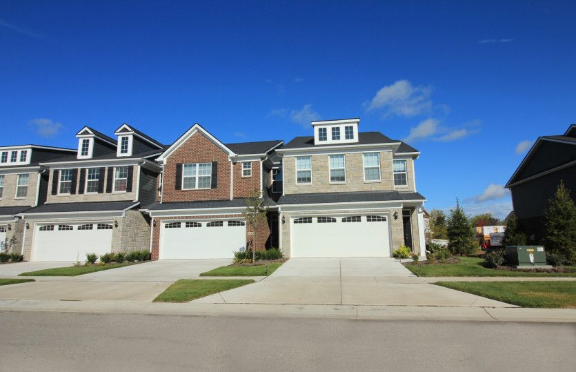 Exterior featured in the Ashton with Basement By Pulte Homes in Detroit, MI