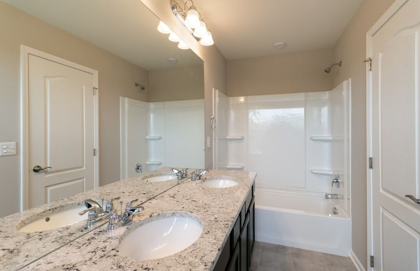 Bathroom featured in the Trenton By Pulte Homes in Detroit, MI