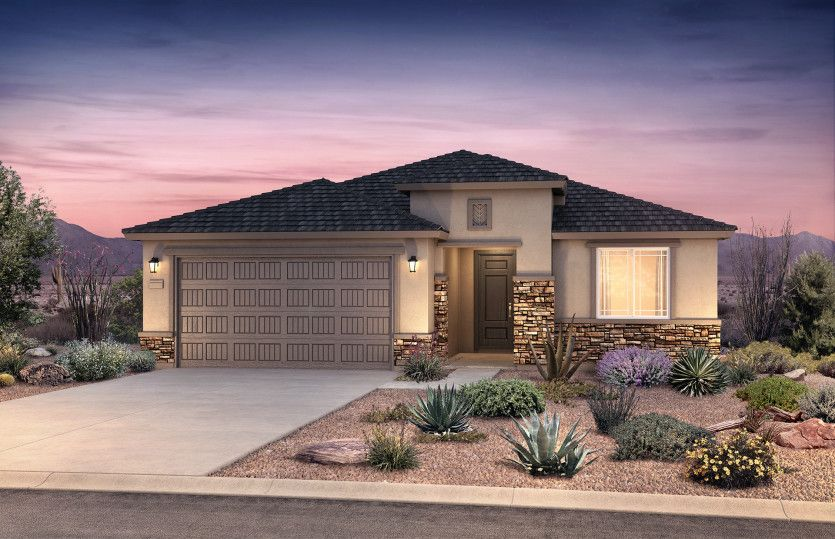 Exterior featured in the Cosenza By Pulte Homes in Tucson, AZ