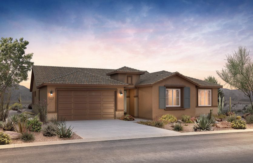 Exterior featured in the Ravenna By Pulte Homes in Tucson, AZ