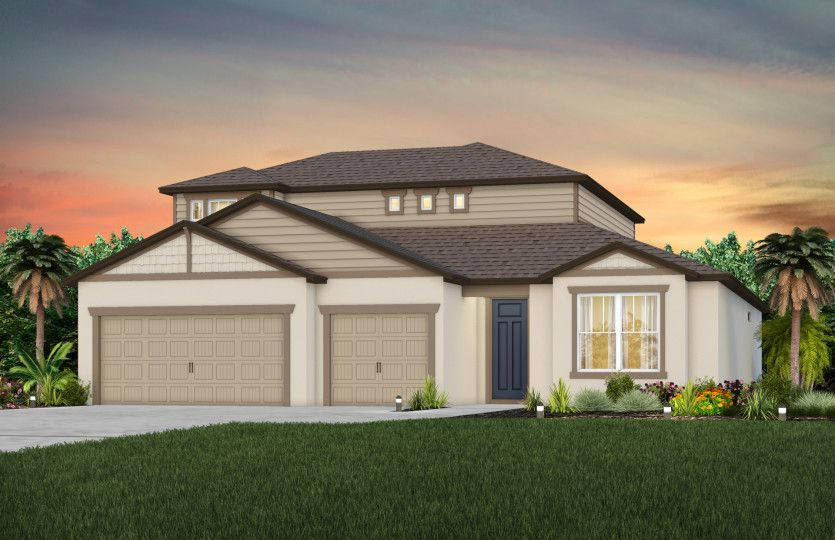 Exterior featured in the Ashby Grand By Pulte Homes in Tampa-St. Petersburg, FL