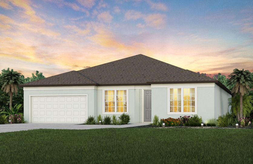 Exterior featured in the Easley By Pulte Homes in Tampa-St. Petersburg, FL